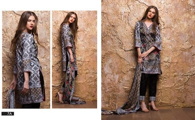 New lawn Designs 2018 sahil collection