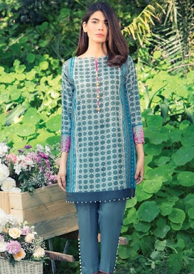 New pakistani lawn collection 2017 by Alkaram