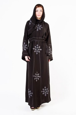 New stylish abaya designs 2017 collection for girls