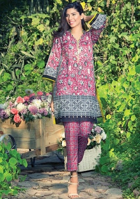 New summer lawn collection 2017