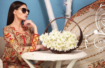 New summer lawn Collection 2018 in pakistan