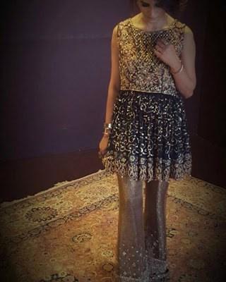 Pakistan formal bridal wear dresses 2017 for walima