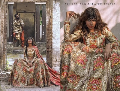 Pakistani bridal dresses Designs 2018 by Ali Xeeshan designer