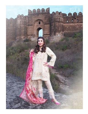 Pakistani summer lawn prints dresses Collection 2018