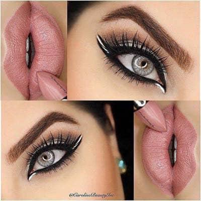 natural looking eye makeup tutorial