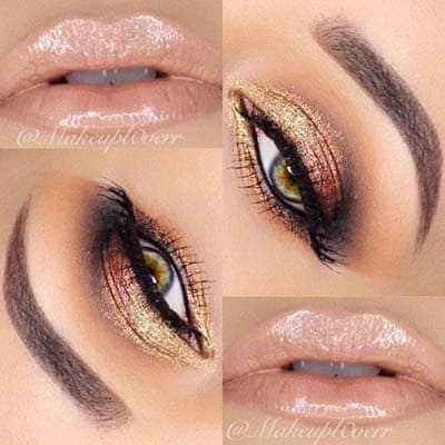 New style natural looking eye shadows