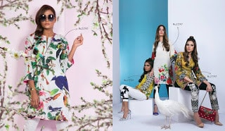 Ready to wear designer summer lawn collections