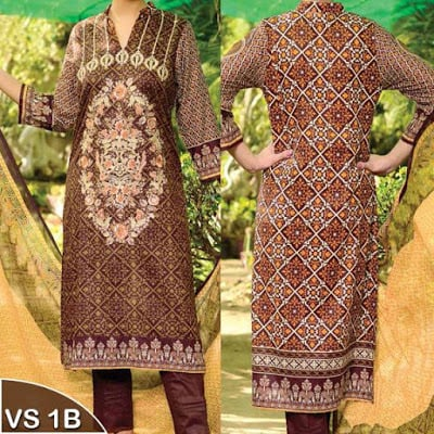 Reshma Embroidered Lawn Collection 2017 of VS Textile Mills
