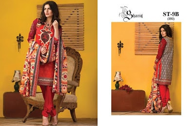 Riwaj Unstitched Printed & Embroidered Lawn 2016 Vol-1