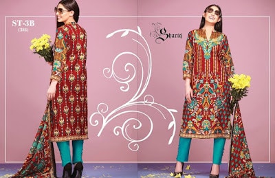 Riwaj latest lawn Collection 2018 summer dresses