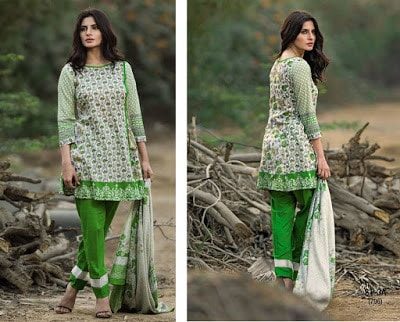Shariq Libas Summer Spring Lawn Collection 2017