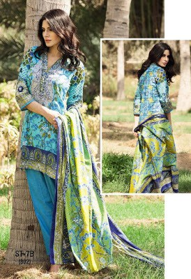 Shariq casual lawn dresses for summer