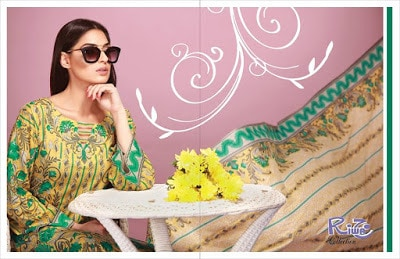 Shariq summer lawn suits Designs 2018 for girls