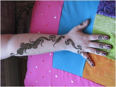 Special mehndi designs for kids 2017 with images