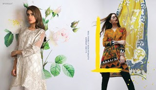 Spring Summer Sana Safinaz Lawn Prints collection 2017