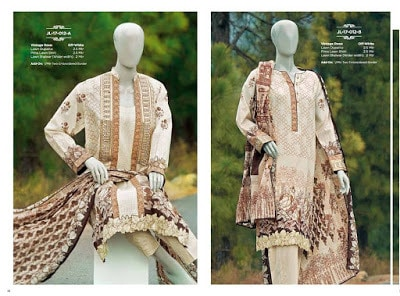 Summer collection of lawn Dresses 2018 by Junaid Jamshed