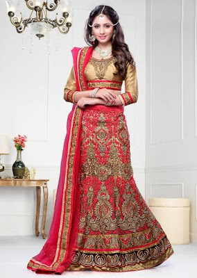 Traditional-indian-bridal-wear-lehenga-designer-collection-2017-10