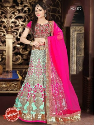 Traditional-indian-bridal-wear-lehenga-designer-collection-2017-9