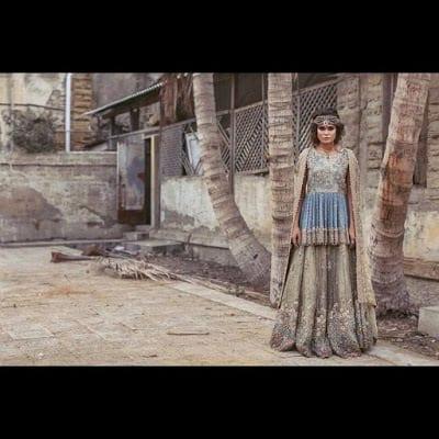 Umsha By Uzma Babar Spring Summer Bridal Wear Dresses