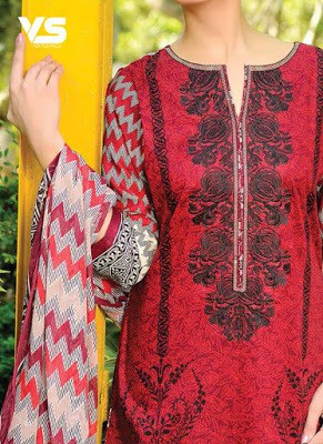 VS textiles new embroidered lawn collection