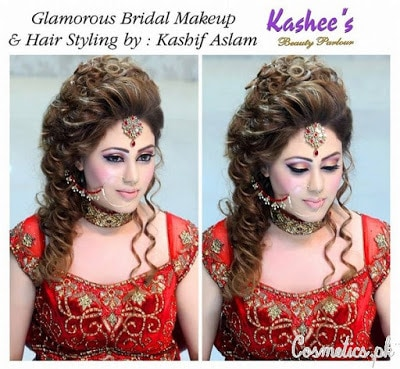 kashees features of women bridal makeup