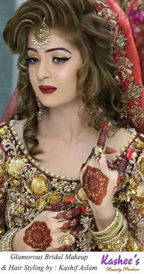 kashees most jaw sensational bridal makeup & hairstyle