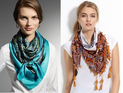Best-Ways-To-Wear-An-Infinity-Scarf-in-Summer-For-Attractive-Look-1