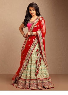 Indian-designer-bridal-lehenga-saree-fashion-trends-for-girls-7