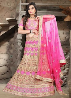 Perfect-Indian-mermaid-or-fish-cut-lehenga-designs-choli-fashion-8