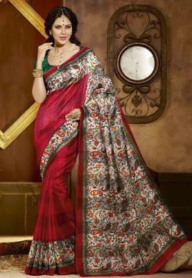 Traditional-indian-banarasi-silk-saree-new-styles-for-girls-10