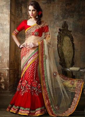 Traditional-indian-banarasi-silk-saree-new-styles-for-girls-8