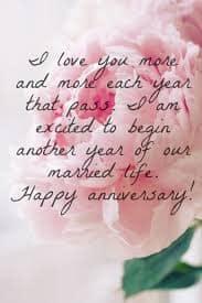 anniversary wishes to husband