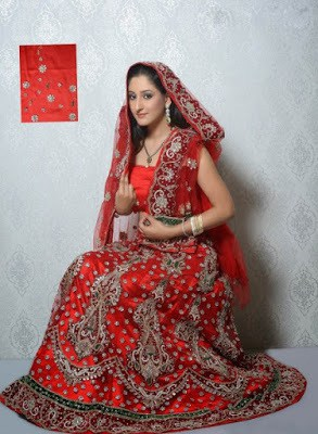 beautiful designer indian wedding dresses