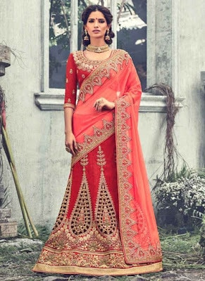 wedding lehenga choli designs with price