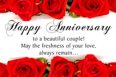 Happy wedding anniversary messages wishes for couple with image happy wedding anniversary wishes messages for couple 1 m4hsunfo