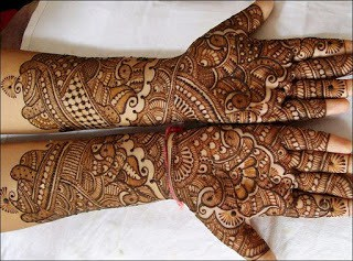 pakistani bridal mehndi designs for full hands