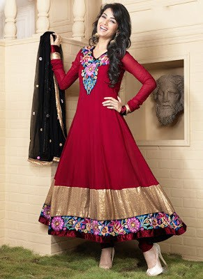 Latest-party-wear-indian-dresses-2017-designs-for-girls-12