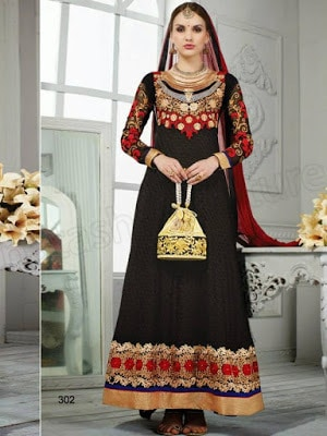 Latest-party-wear-indian-dresses-2017-designs-for-girls-2