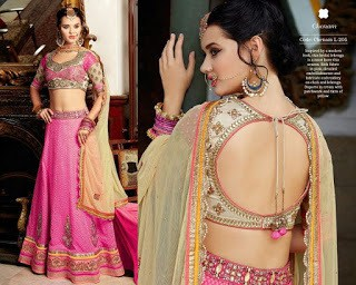 Top-blouse-designs-pattern-for-lehenga-choli-for-woman-3