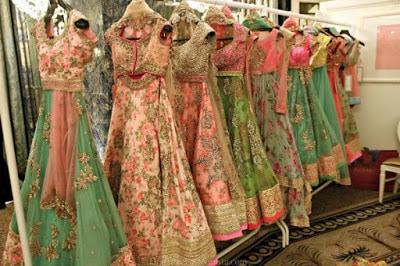 Traditional-indian-bridal-half-saree-designs-for-weddings-9
