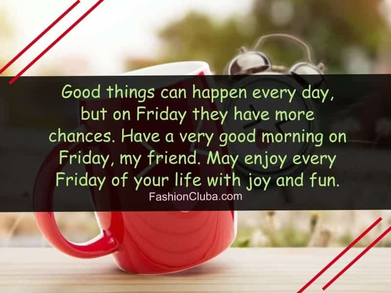 happy friday morning wishes