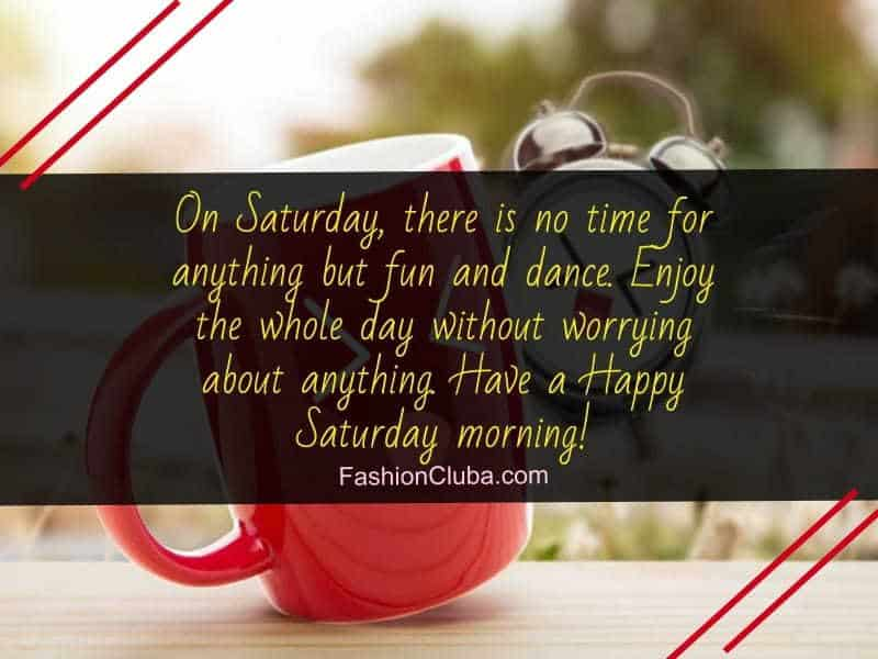 lovely good morning Saturday quotes