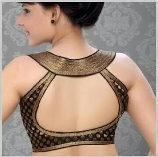 stylish-blouse-back-neck-designs-for-sarees-catalogue-9