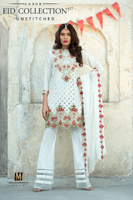 2 Piece Embroidered Lawn