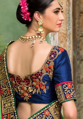 Indian-wedding-blouse-designs-collection-2017-for-silk-saree-3