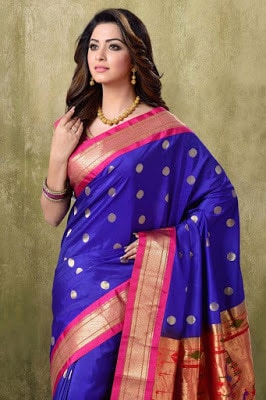 India-paithani-saree-designs-maharashtrian-blouse-patterns-5