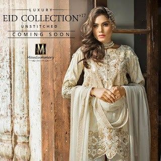 Mausummery Luxury Eid Collection 2018 Unstitched