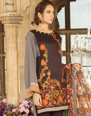Orient-textile-summer-chiffon-embroidered-2017-collection-9