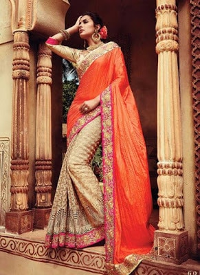 Stylish-indian-embroidered-bridal-saree-2017-for-brides-9