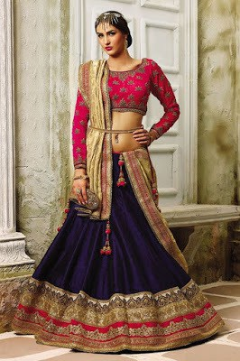 Traditional-ethnic-wear-indian-wedding- dresses-for-women-2